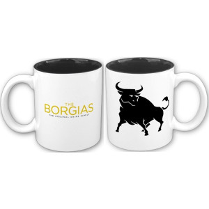 The Borgias Bull Mug