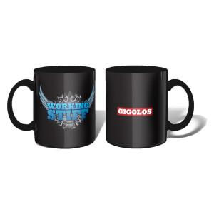 """Gigolos """"Working Stiff"""" Mug"""