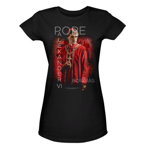 The Borgias Pope Alexander VI Women's T-Shirt