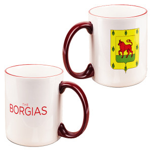 The Borgias Family Crest Mug