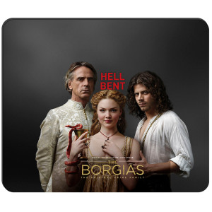 The Borgias Hell Bent Mousepad