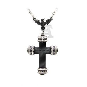 The Borgias Nevermore Cross Necklace