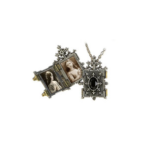 The Borgias Orthodox Icon Locket Necklace