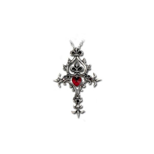 The Borgias Renaissance Cross of Passion Necklace