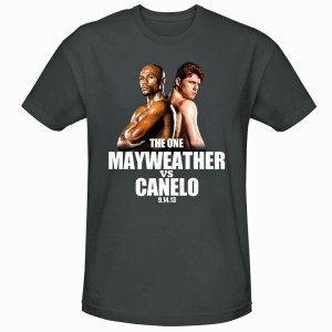 The One: Mayweather vs. Canelo Official Pay-Per-View T-Shirt