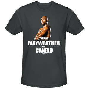 The One: Mayweather vs. Canelo Official Pay-Per-View Mayweather T-Shirt