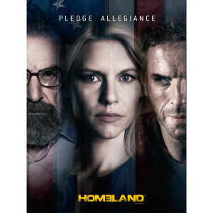 Homeland Pledge Allegiance Poster