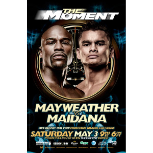 The Moment: Mayweather vs. Maidana Official Pay-Per-View 11x17 Poster