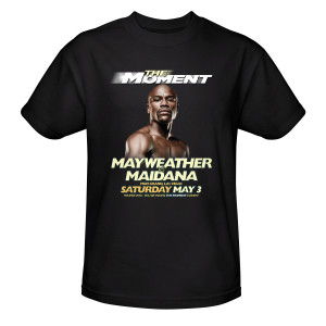 The Moment: Mayweather vs. Maidana Official Pay-Per-View Mayweather T-Shirt