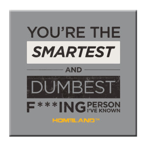 Homeland Smartest and Dumbest Magnet