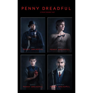 Penny Dreadful Cast Set 2 Magnets [Set of 4]