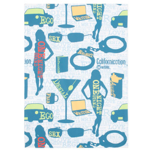 Californication Ego Pattern Standard Pillowcase