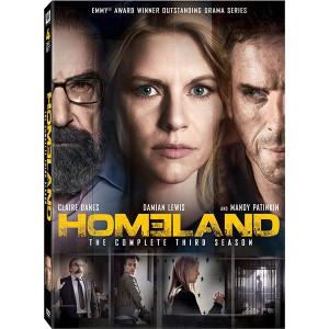 Homeland: Season 3 DVD