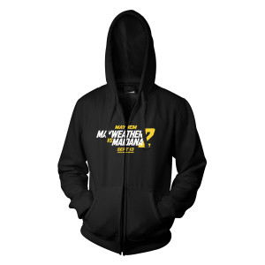 Mayhem Mayweather vs. Maidana 2 Official Zip Hoodie
