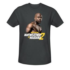 Mayhem Mayweather vs. Maidana 2 Official Mayweather T-Shirt