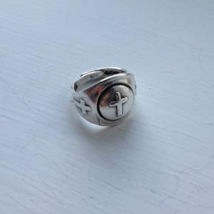 Cross Gumball Ring