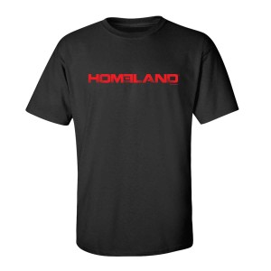 Homeland Red Logo T-Shirt