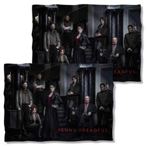 Penny Dreadful Cast Double Sided Pillow Case