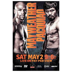 OFFICIAL Mayweather vs Pacquiao Poster [11x17]