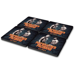 OFFICIAL Mayweather vs Pacquiao Poster Coasters [Set of 4]