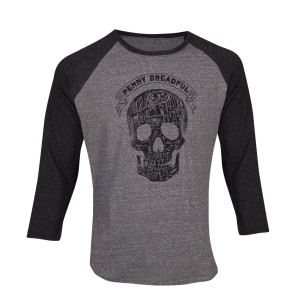 Penny Dreadful Skull Raglan T-Shirt