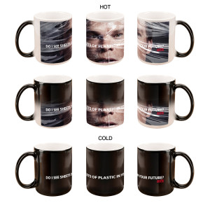 Dexter Sheets of Plastic Heat Sensitive Mug
