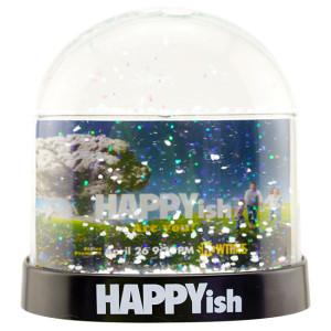 Happyish Mini Snow Globe