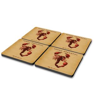 Penny Dreadful Scorpion Coasters [Set of 4]