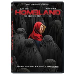 Homeland: Season 4 DVD