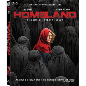Homeland: Season 4 Blu-ray