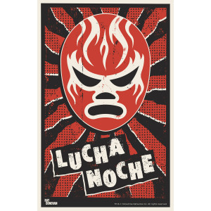 "Ray Donovan Lucha Noche Poster [11""x17""]"