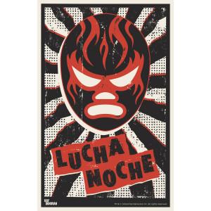 "Ray Donovan Lucha Noche Poster Black [11""x17""]"