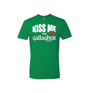 Shameless Kiss Me I'm a Gallagher T-Shirt