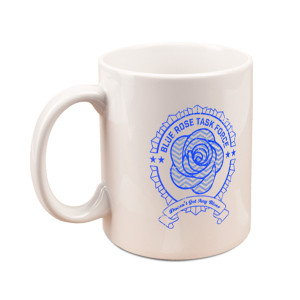 Twin Peaks Blue Rose Mug