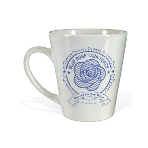 Twin Peaks Blue Task Force Latte Mug