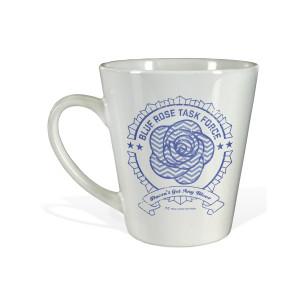 Twin Peaks Blue Task Force Latte Mug