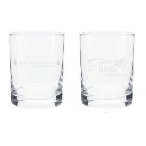 Twin Peaks Rocks Glasses (Set of 2)