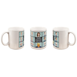 Our Cartoon President Shady Bunch Mug