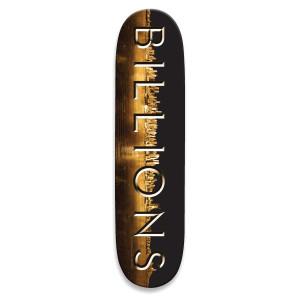 Billions Logo Skate Deck