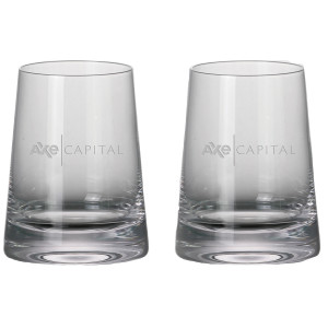 Billions Axe Capital Stemless White Wine Glasses (Set of 2)