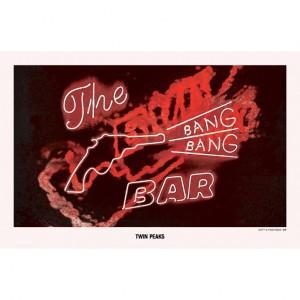 """Twin Peaks Bang Bang Poster (17""""x11"""")"""