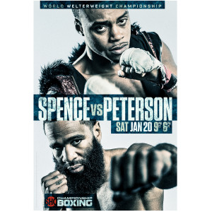 Spence vs. Peterson Giclee Poster [18x24]