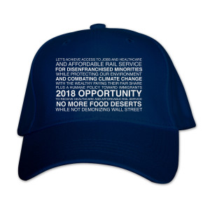 Our Cartoon President Opportunity Slogan Hat
