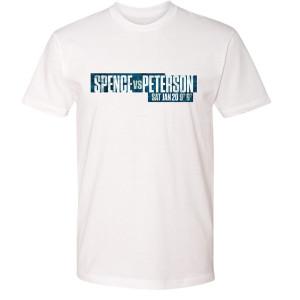 Spence vs. Peterson Logo T-Shirt (White)