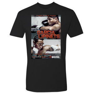 Garcia vs. Lipinets Graphic T-Shirt (Black)