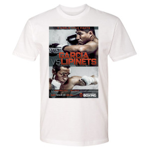 Garcia vs. Lipinets Graphic T-Shirt (White)