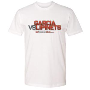 Garcia vs. Lipinets Logo T-Shirt (White)