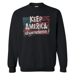 Shameless Keep America Crewneck Pullover