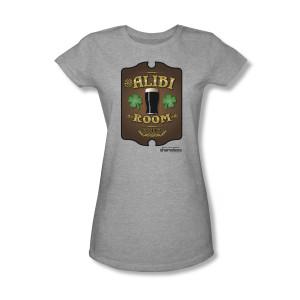 Shameless Alibi Women's Slim Fit T-Shirt