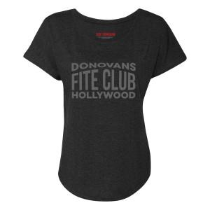 Ray Donovan Donovan's Fite Club Women's Dolman T-Shirt